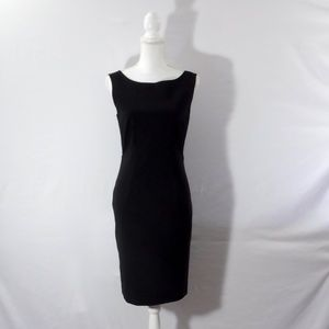 Prada Black Sheath Dress Size 44